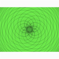 Spirograph Canvas 12  X 16  (unframed)