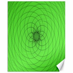Spirograph Canvas 16  X 20  (unframed)