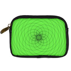 Spirograph Digital Camera Leather Case