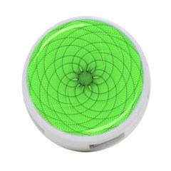 Spirograph 4-Port USB Hub (One Side)