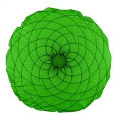 Spirograph 18  Premium Round Cushion