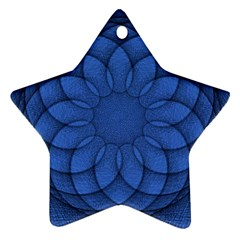 Spirograph Star Ornament