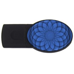 Spirograph 2gb Usb Flash Drive (oval)