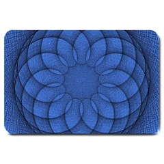Spirograph Large Door Mat