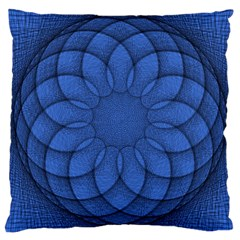 Spirograph Large Cushion Case (two Sided)