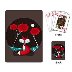The Read Fox Playing Cards Single Design
