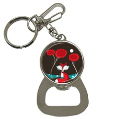 The Read Fox Bottle Opener Key Chain
