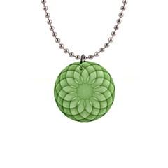 Spirograph Button Necklace