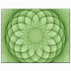 Spirograph Canvas 11  x 14  (Unframed)