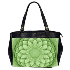 Spirograph Oversize Office Handbag (Two Sides)