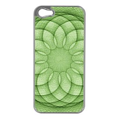 Spirograph Apple iPhone 5 Case (Silver)
