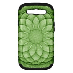 Spirograph Samsung Galaxy S III Hardshell Case (PC+Silicone)