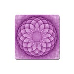 Spirograph Magnet (Square) Front