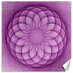 Spirograph Canvas 12  x 12  (Unframed)