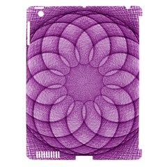 Spirograph Apple iPad 3/4 Hardshell Case (Compatible with Smart Cover)