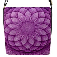 Spirograph Flap closure messenger bag (Small)