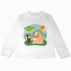 Tea Time Kids Long Sleeve T Shirt