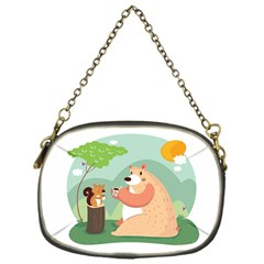 Tea time Chain Purse (One Side)
