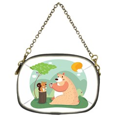 Tea time Chain Purse (Two Sided)
