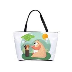 Tea Time Large Shoulder Bag
