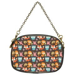 Woodland animals Chain Purse (One Side)