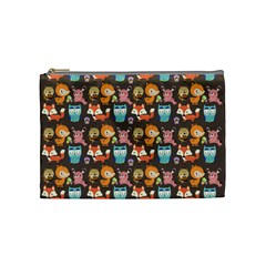Woodland animals Cosmetic Bag (Medium)