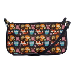 Woodland animals Evening Bag
