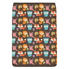 Woodland Animals Removable Flap Cover (large)