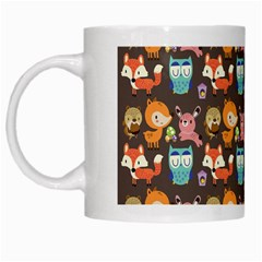 Woodland animals White Coffee Mug