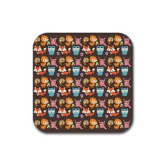Woodland Animals Drink Coasters 4 Pack (square)
