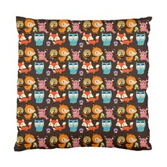 Woodland animals Cushion Case (Two Sided)