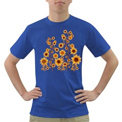 Sunflower Cheers Mens' T-shirt (Colored)