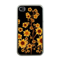 Sunflower Cheers Apple iPhone 4 Case (Clear)