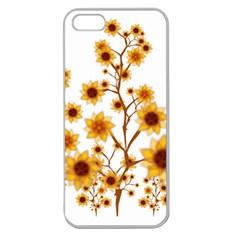 Sunflower Cheers Apple Seamless iPhone 5 Case (Clear)