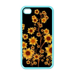 Sunflower Cheers Apple iPhone 4 Case (Color)