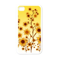 Sunflower Cheers Apple Iphone 4 Case (white)