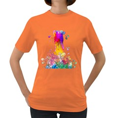WATERFALL OF IDEAS Womens' T-shirt (Colored)