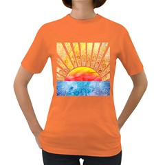 BEYOND THE CLOUDS Womens' T-shirt (Colored)