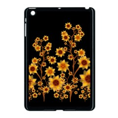 Sunflower Cheers Apple iPad Mini Case (Black)