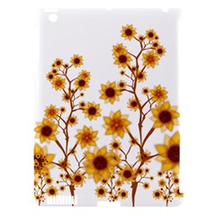 Sunflower Cheers Apple Ipad 3/4 Hardshell Case (compatible With Smart Cover)