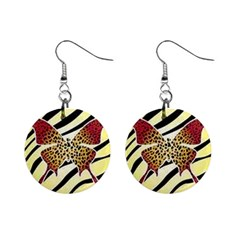 Zeb Fly Mini Button Earrings