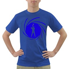 The man with the golden bat Mens' T-shirt (Colored)