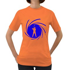 The man with the golden bat Womens' T-shirt (Colored)