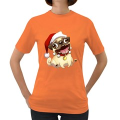 Pug Womens' T Shirt (colored)