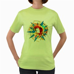 My Passion Womens  T Shirt (green)