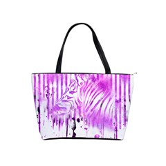 The Hidden Zebra Large Shoulder Bag