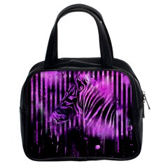 The Hidden Zebra Classic Handbag (Two Sides)