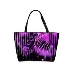The Hidden Zebra Large Shoulder Bag