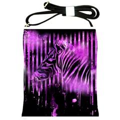 The Hidden Zebra Shoulder Sling Bag
