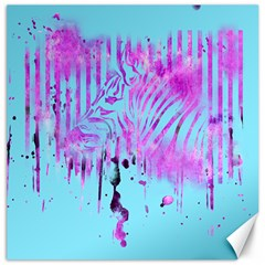 The Hidden Zebra Canvas 20  x 20  (Unframed)